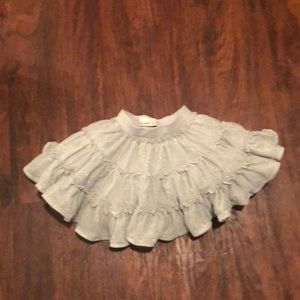 Girls puffy skirt